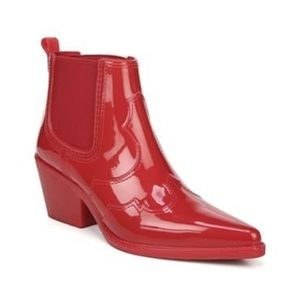 Sam Edelman Winona Western Waterproof Rain Boot
